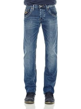 Pepe Jeans London Pantalón Vaquero Tooting Oldaw (Azul)