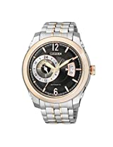 Citizen Analog Multi-Color Dial Men's Watch - NP3004-53E