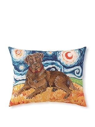 Van Growl Lab Chocolate Pillow