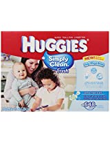 Huggies Simply Clean Fresh Baby Wipes, 648 Count