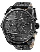 Diesel The Daddie Analog Black Dial Men's Watch - DZ7193