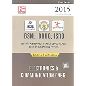 BSNL DRDO ISRO: Electronics Engineering: Previous Solved Papers