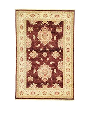 L'Eden del Tappeto Teppich Zeigler rot/beige 154t x t101 cm