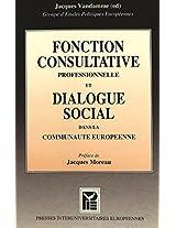 Fonction Consultative Prof. (Travail & Societe / Work & Society)
