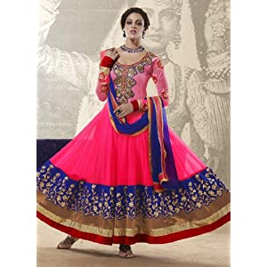 Designer Party Wear Long Anarkali Salwar Suit