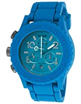 Men'S Rubber 42-20 Chronograph Blue Rubber Strap And Dial (A309917-00)