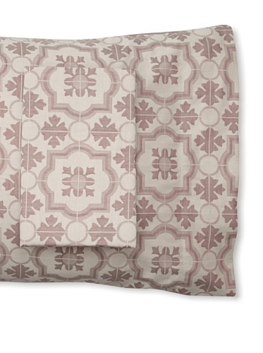 Mili Designs Pair of Gioto Pillowcases (Burgundy)
