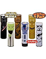 Star Wars Tin Kaleidoscopes Darth Vader, R2 D2, Stormtrooper, C 3 Po,Chewbacca & Yoda Gift Set Bundle 6 Pack