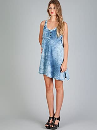 Diesel Vestido Dhakki (Azul)
