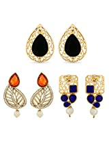 Gold Plated Designer Earrings for Women Combo-2324