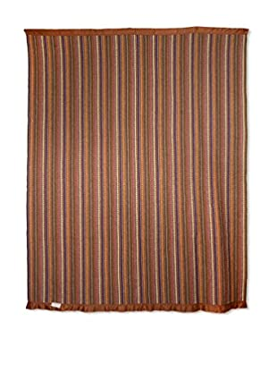 Uptown Down Previously Owned Amana Woolen Mills Striped Throw