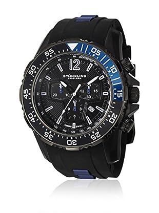 Stührling Original Uhr mit schweizer Quarzuhrwerk Man Enterprise II 529.33L71 Schwarz