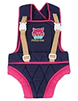 Littly Solid Appeal Baby Carrier (Blue, Pink)