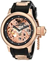 Invicta Analog Pink Dial Men's Watch - 1090