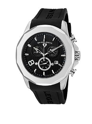 Swiss Legend Reloj Cronógrafo Monte Carlo Negro