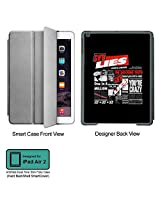 Universal Music Officially Licensed Guns n Roses -Lies Tablet Designer GRAY SMART CASE for APPLE IPAD AIR2