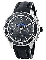 TAG Heuer Men's THCAK211AFT8019 Aqua Racer Analog Display Swiss Automatic Black Watch