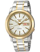 Seiko Analog Multi-Color Dial Men's Watch - SNKE54K1