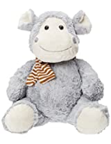 Play N Pets Sitting Hippo, Multi Color (13.78-inch)