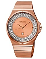 Seiko Golden Metal Analog Women Watch SXDF74P1
