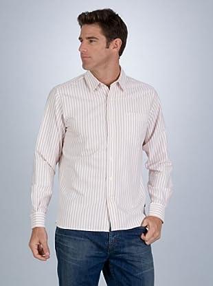 Timberland Camisa Blanco / Naranja M