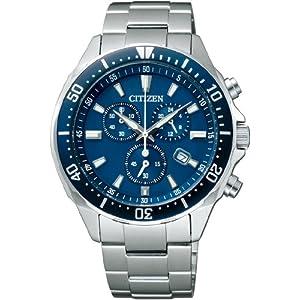 【クリックで詳細表示】[シチズン]CITIZEN 腕時計 ALTERNA オルタナ Eco-Drive エコ・ドライブ クロノグラフ ダイバーデザイン VO10-6772F メンズ