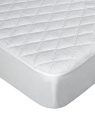Protección Rizo Impermeable Gemelo (Blanco)
