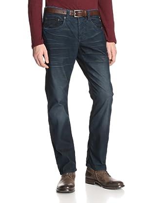 Stitch's Men's Texas 5 Pocket Straight Leg Corduroy Pant (Cobalt)