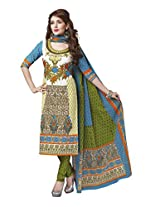 Suhanee Womens Cotton Unstitched Dress Material (Suhanee`S Exclusive Snehaa 1060 _Multi-Coloured)