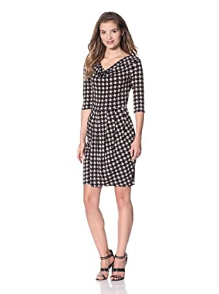 Leota Women's Ava Dress (Houndstooth)