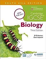 Cambridge IGCSE Biology 3rd Edition plus CD