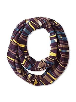 Theodora & Callum Women's Pyrenees Infinity Wearable Art Scarf, Citron Multi