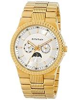 Titan Regalia Analog Silver Dial Men's Watch - NE1532YM01