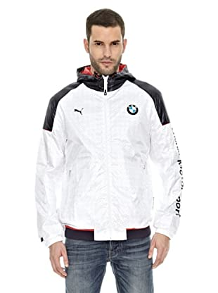 Bmw Chaqueta Windbreaker (Blanco)