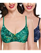 Organic Antimicrobial Side support Bra Combo ( Pack of 2)