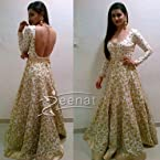 Bollywood Prachi Desai White Anarkali Suit