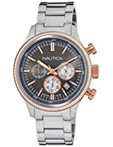 Nautica Chronograph Silver Dial Men's Watch - NTA22633G