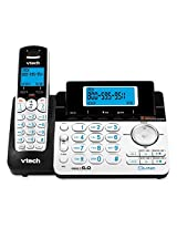 Vtech 6.0 2-Line Expandable Cordless Phone with Digital Answering System and ...