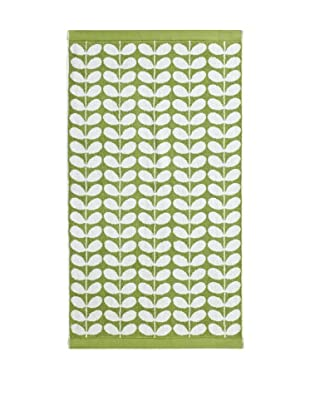 Orla Kiely Stem Jacquard Bath Sheet, Apple