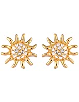 Estelle Gold Plated Studs for Women (ESER494-703)