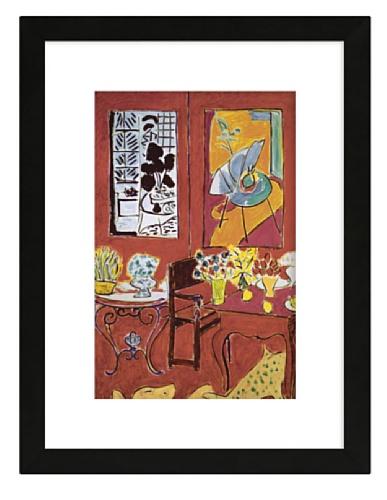 Matisse - Large Red Interior, 1948, 17.8