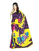 DivyaEmporio Saree with Unstitched Blouse