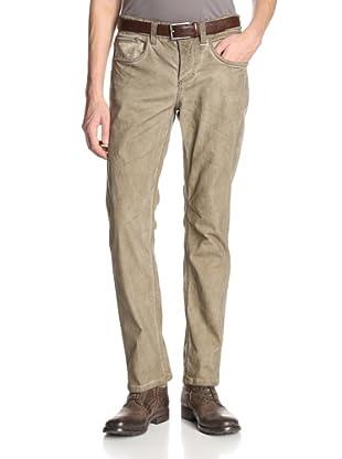 Stitch's Men's Texas 5 Pocket Straight Leg Canvas Pant (Olive Tint)