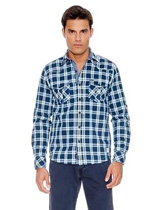 Pepe Jeans London Camisa Iceage (Azul Marino)
