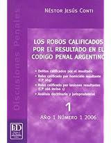 Los Robos Calificados Por el Resultado en el Codigo Penal Argentino