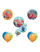 Finding Nemo 9 Pc Birthday Party Balloon Decoration Kit