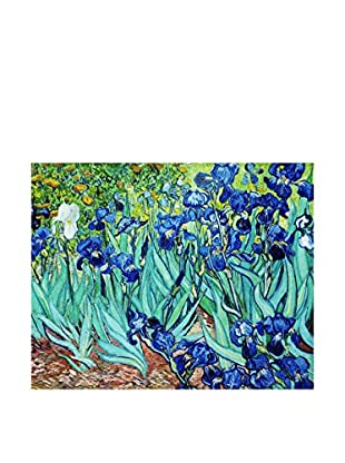 Legendarte Leinwandbild Iris di Vincent Van Gogh