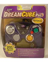 Wii Dreamcube Pro Wired Controller With Rumble - Purple