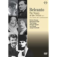 Belcanto: The Tenors of the 78 Era 1 [DVD] [Import]