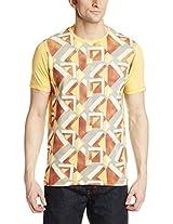 Basics Men's Crew Neck Cotton T-Shirt